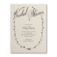 Sweet Swag - Invitation - Ecru